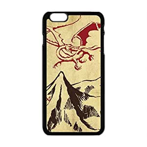 Unique mountain and red dinosaur Cell Phone Case for iPhone plus 6