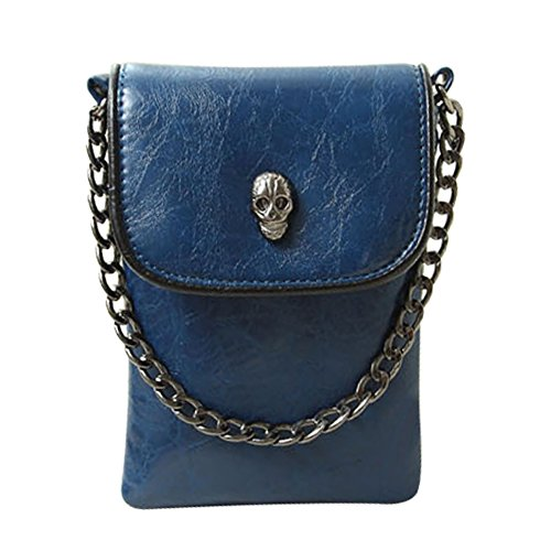 Price comparison product image Babyprice Fashion Skull Mini Shoulder Bag Handbage Wallet Purse Cell phone Pouch