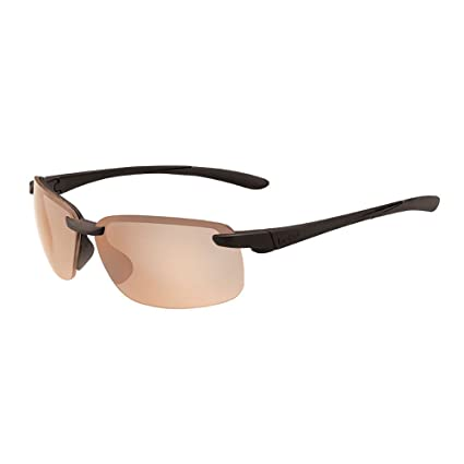 Amazon.com: Bollé flyair – Gafas de sol mate marco negro ...