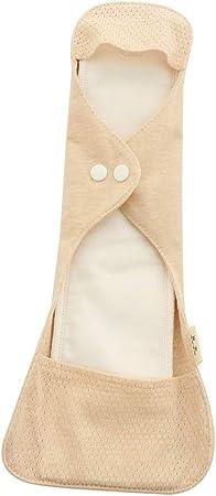 Cuticate - Compresas de algodón para mujer, lavables, algodón, 340 mm: Amazon.es: Hogar