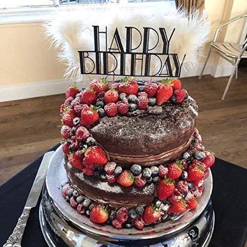 Peachy Happy Birthday Cake Topper Party Decoration Classic Movie Theme Funny Birthday Cards Online Alyptdamsfinfo