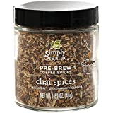 Simply Organic Chai Spices Pre-Brew Coffee Spice | Certified Organic | 1.69 oz.