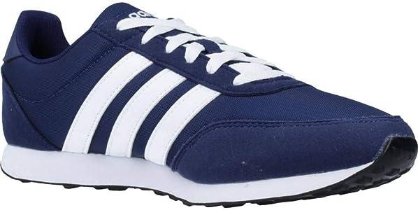 Adidas V Racer 2.0, Zapatillas de Running para Hombre, Azul (Dark Blue/FTWR White/FTWR White Dark Blue/FTWR White/FTWR White), 38 EU: Amazon.es: Zapatos y complementos