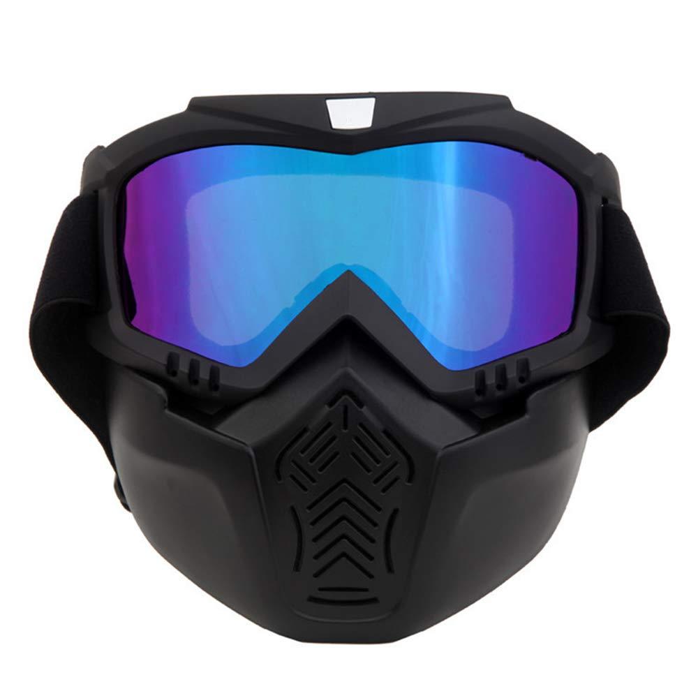 Alte Grün Motorrad Gogglesoff-Road Dust Maske Abnehmbare Staubmaske