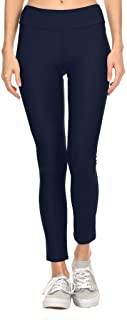 product image for Dippin' Daisy's Solid Navy Women's Active Ankle Length Leggings