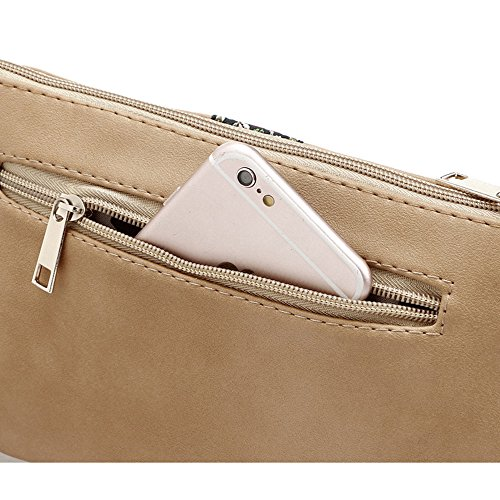 for Bag Black Women Purse Crossover DukeTea Teen Small Crossbody Leather Phone Girls wqA0q7px