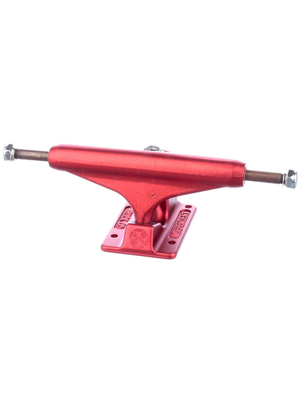 Independent 139mm Ano Red Forged Hollow Truck Skateboard Trucks (Set of 2) by Independent   B01KH4964E