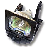 OEM Sanyo Projector Lamp, Replaces Part Number 6103157689 with Housing