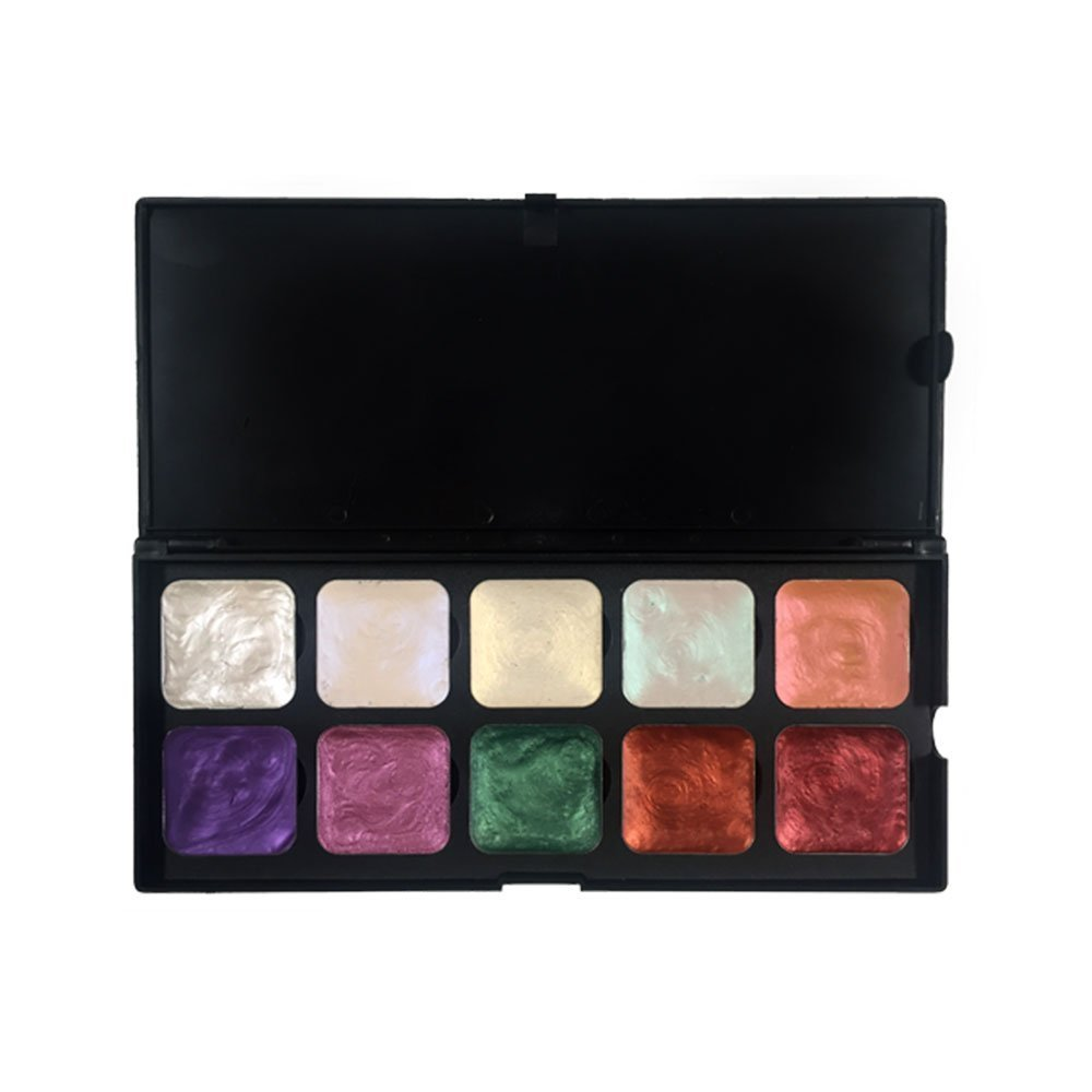 European Body Art, Encore Alcohol Palette (Chrome)