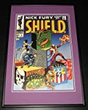 Nick Fury Agent of SHIELD #1 Framed 10x14 Cover Poster Photo Marvel