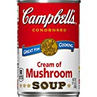 Campbell's Condensed Soup, Cream of Mushroom, 10.5 Ounce