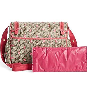 Amazon.com: Gucci Rose Bud cierre rosa de impresión GG lona ...