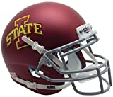 NCAA Iowa State Cyclones Matte Mini Helmet, One Size, White