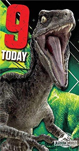 Amazon Jurassic World Age 99th Happy Birthday Card Toys Games