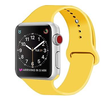 Mihutu Compatible con Apple Watch Correa 42mm, Correa de Pulsera ...