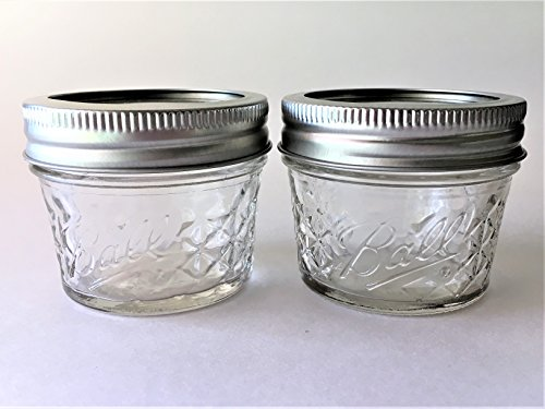 quilted 4 oz jars - 6