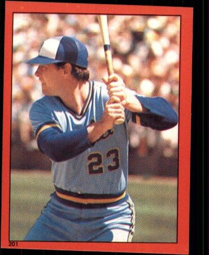 1982 Topps Baseball Sticker #201 Ted Simmons Mint - 1982 Sticker Topps Baseball