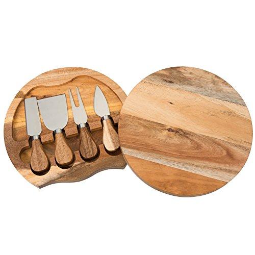 Acacia Wood Cheese Board - 5