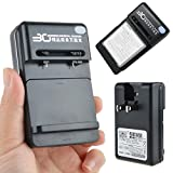 AT LCC YIBOYUAN Battery Wall Charger for SGH-T989 Galaxy S II T-Mobile eb-l1d7iba