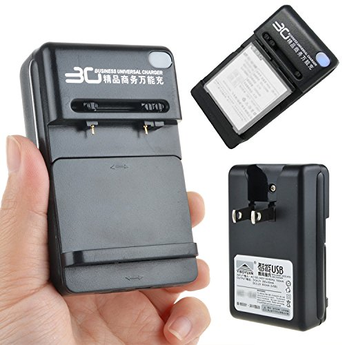 Digipartspower 2 in1 Output 1A Usb Battery Charger For Elephone P5000 P3000S P3000 Phone
