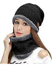 Womens Slouchy Beanie Winter Hat Knit Warm Snow Ski Skull Cap c66c8d27c281