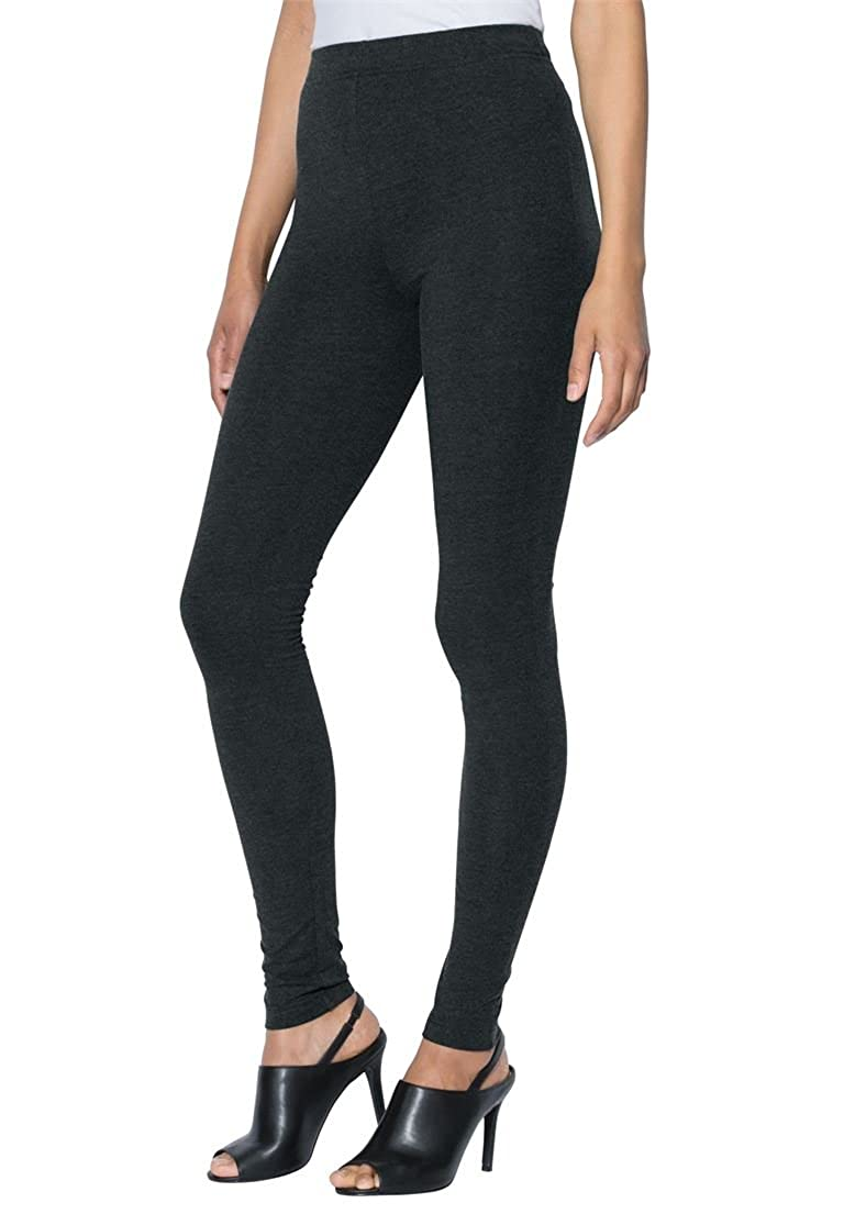 Roamans Women's Plus Size Tall Ankle-Length Stretch Legging