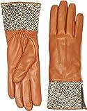 UGG Women's Animal Skin Smart Leather Gloves Tan Leopard MD