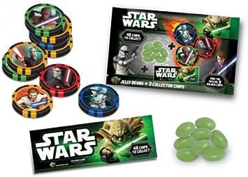 Star Wars Collector chips con Jelly Beans surtidos contenido 1 pieza – Selección al azar: Amazon.es: Juguetes y juegos