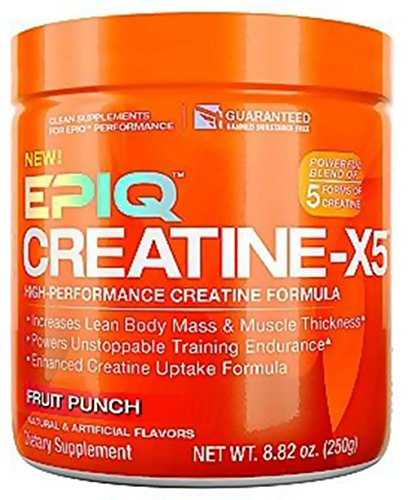 EPIQ CREATINEX5 Fruit Punch 243 g