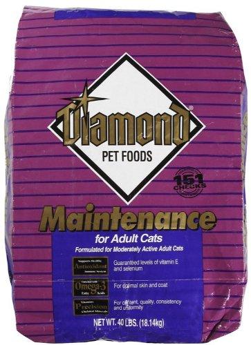 Diamond Maintenance Formula Chicken Flavor Dry Adult Cat Food, 40-Pound Bag, My Pet Supplies