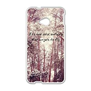 HTC One M7 Phone Case White Ed Sheeran Quotes IH4502021