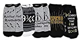 Harry Potter Deathly Hallows 5 Pack Ankle Socks