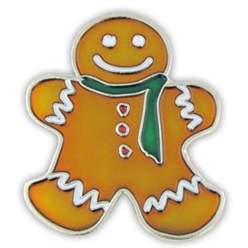 Pin Holiday Christmas (PinMart's Gingerbread Man Holiday Christmas Lapel Pin)
