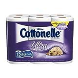 Cottonelle Ultra Comfort Care Toilet Paper, Big Roll (12 Rolls), Health Care Stuffs