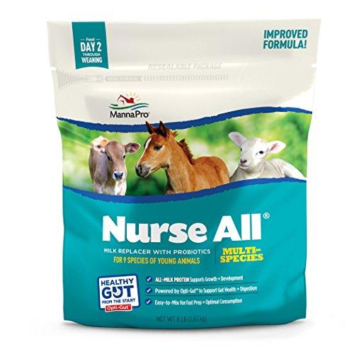 Manna Pro NurseAll Non-Medicated Milk Replacer, 3.5 lb - Kid Milk Replacer