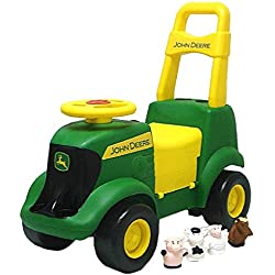 Learning Curve John Deere Sit 'N' Scoot Activity Tractor (Includes 16-pk Energizer Max AAA Btry)