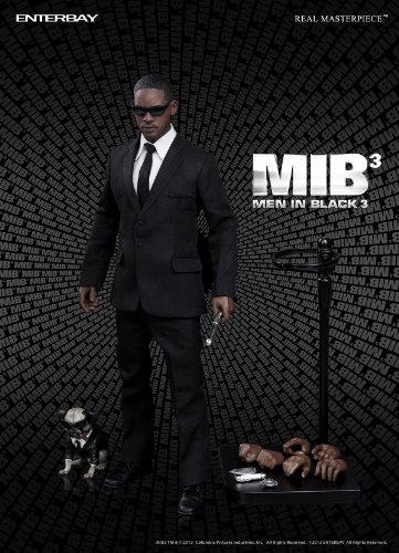 1/6 Real Masterpiece Collectible Figure / Men in Black 3: Will Smith As Agent J [Japan - In Men Agent Black 3 J