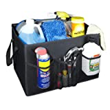Kennedy Home Collection Fold Away Jumbo Trunk Organizer with Velcro Lining, Large offers