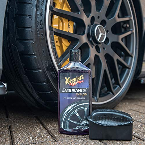 Meguiar's G7516 Endurance Tire Gel - 16 oz. - Premium Tire Gel for a Lasting Glossy Shine