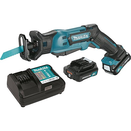 Cordless Recipro Saw Kit - Makita RJ03R1 12V Max CXT Lithium-Ion Cordless Recipro Saw Kit