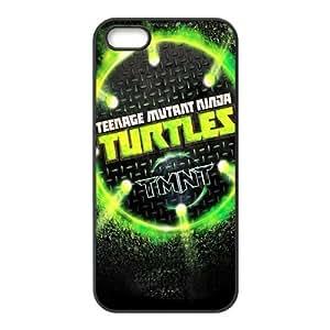 Protective Hard Plastic Coated Cover Case for iPhone 5 / 5S , TMNT Teenage Mutant Ninja Turtles