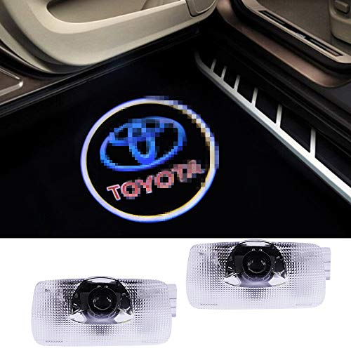 Price comparison product image Toyota Compatible Logo Lights Ghost Lamp Accessories Door Lights Projector Easy Installation Welcome Emblem for Camry / Prius / Sequoia / Sienna / Tundra / Venza