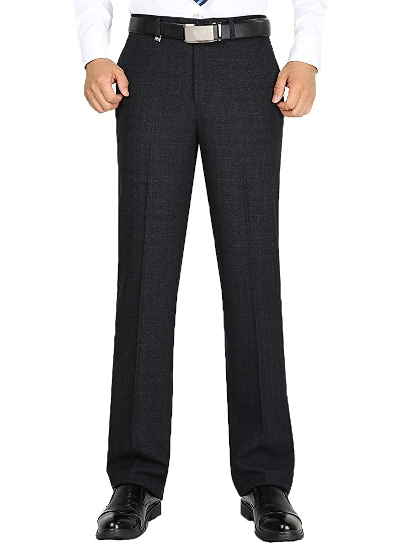 Alimens & Gentle Non-Iron Wrinkle Free Straight Fit Dress Pants