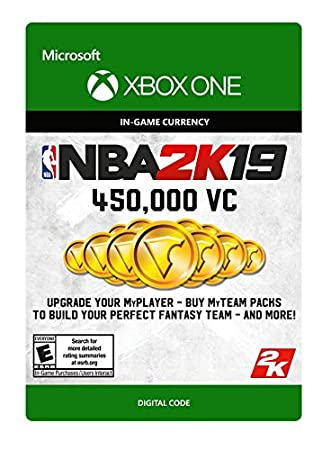 NBA 2K19: 450000 VC Pack - Xbox One [Digital Code]