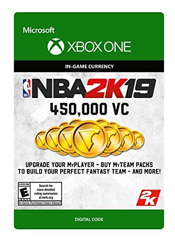 NBA 2K19: 450000 VC Pack - Xbox One [Digital Code] from 2K Games
