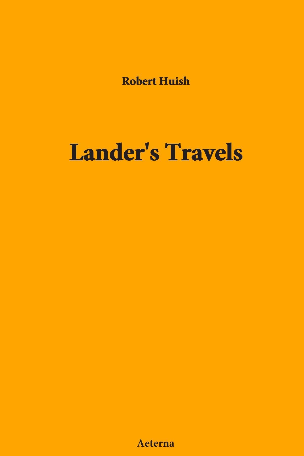 Read Online Lander's Travels pdf epub
