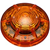 """PF24LM AMBER PORTABLE LED FLARE """"POWER-MARKERS"""" Safety Lights Personal Hazard Light"""