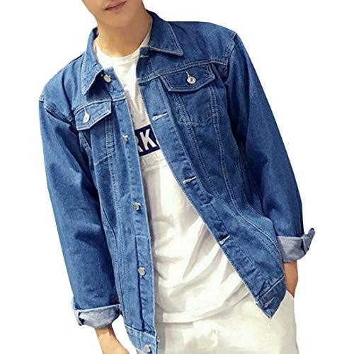 Di Con Maniche Abbigliamento Giacca 2 Adelina Da Overgrey Retro Jeans Oversize Strappato Blue Lunghe Uomo TPIaaYOqw