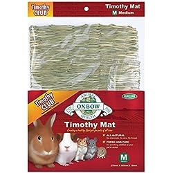 Medium, 100% All-Natural Timothy Hay Mat for Small Pet