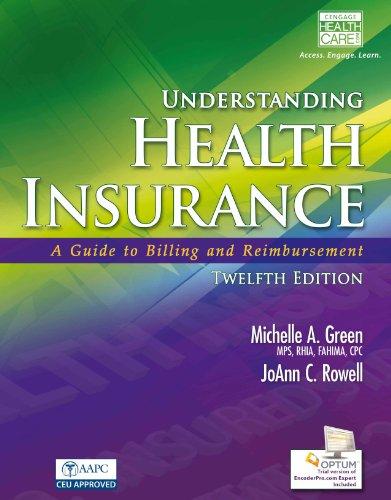 Download Understanding Health Insurance: A Guide to Billing and Reimbursement Pdf